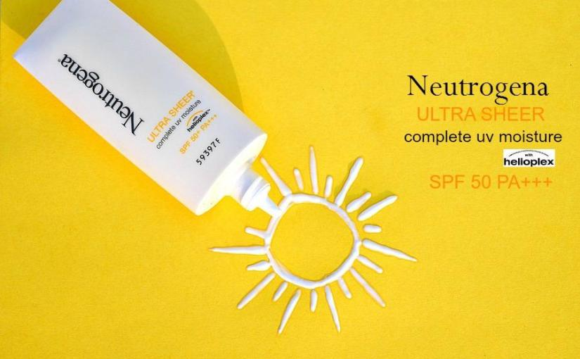Neutrogena Ultra Sheer Complete UV Moisture SPF 50 Review