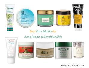 Best Face Masks for Acne Prone & Sensitive Skin