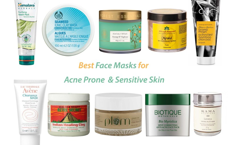 Best Face Masks for Acne Prone & Senstive Skin