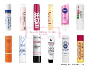 Best Lip Balms for Dry Chapped Lips in India