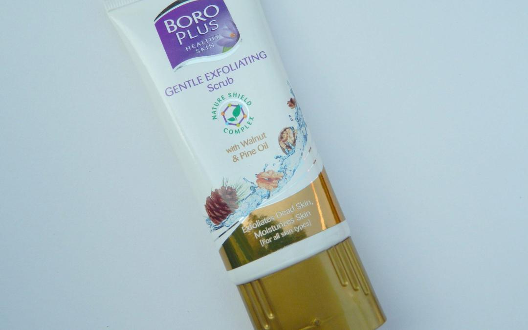Boro Plus Gentle Exfoliating Scrub with Walnut & Pine Oil Review
