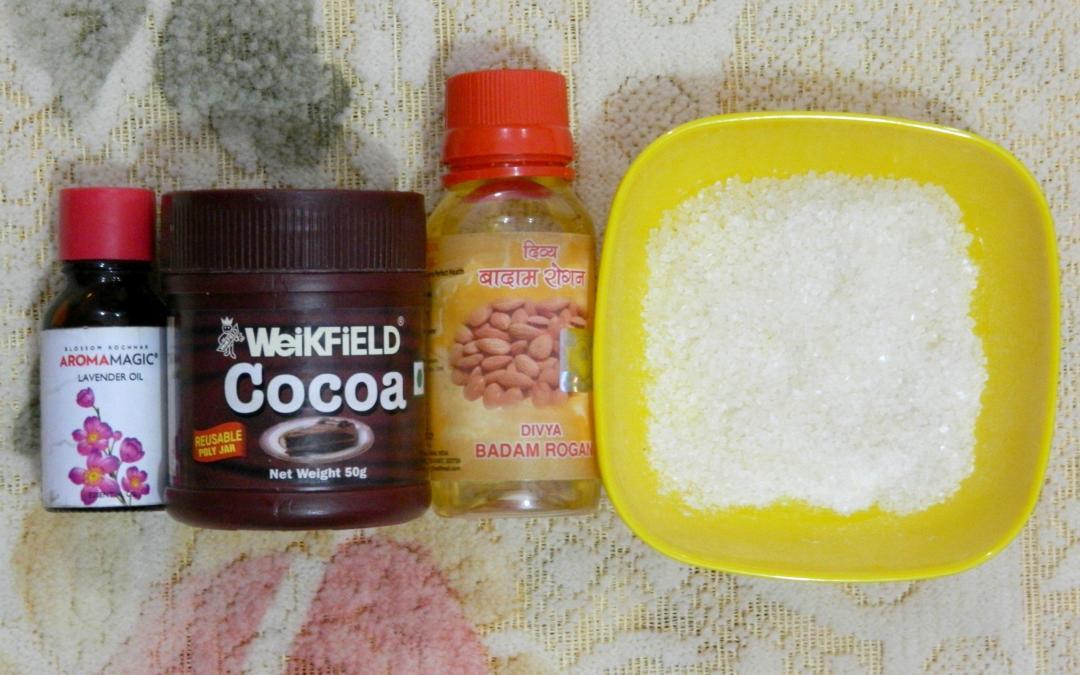 Scrub For Softer Skin- DIY