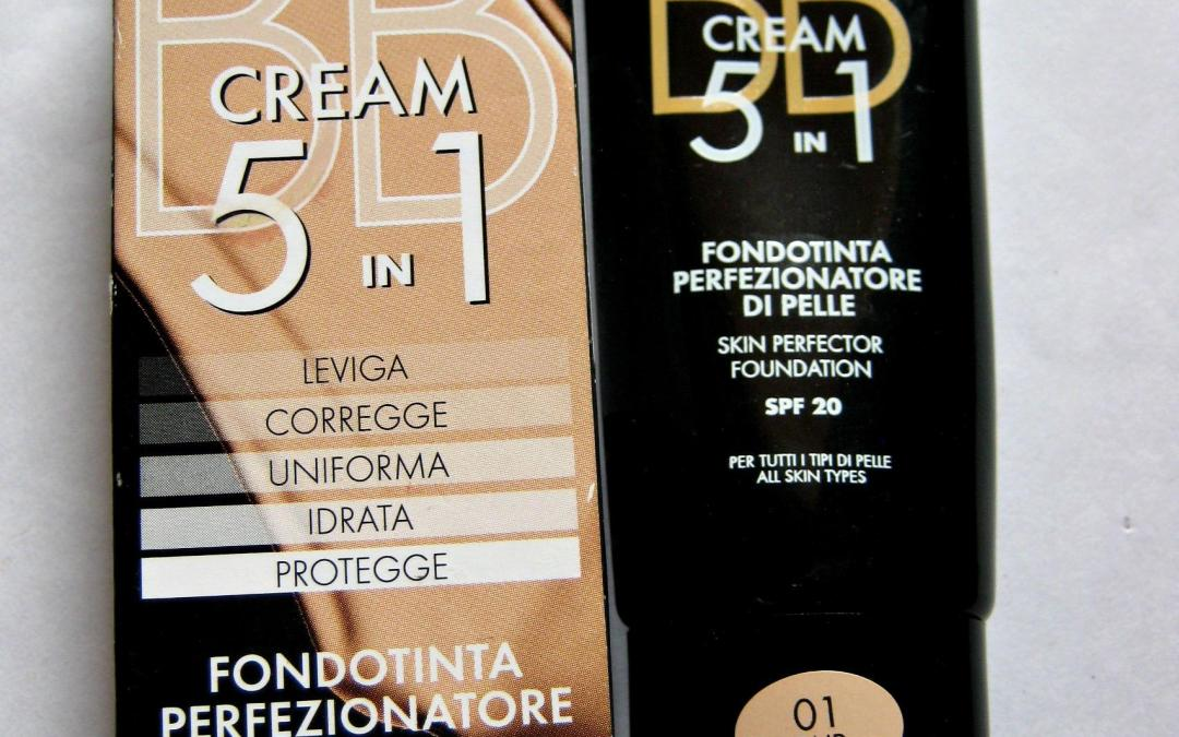Deborah Milano 5-in-1 BB Cream with SPF 20 Shade #01.-Review and Swatches