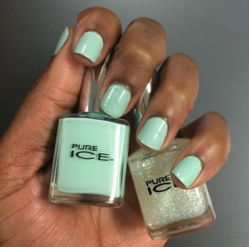 Fashion Nail Beauty Spa Elizabeth Nj: Beauty Crush: Pure Ice Home Run & Don't You Wish Nail