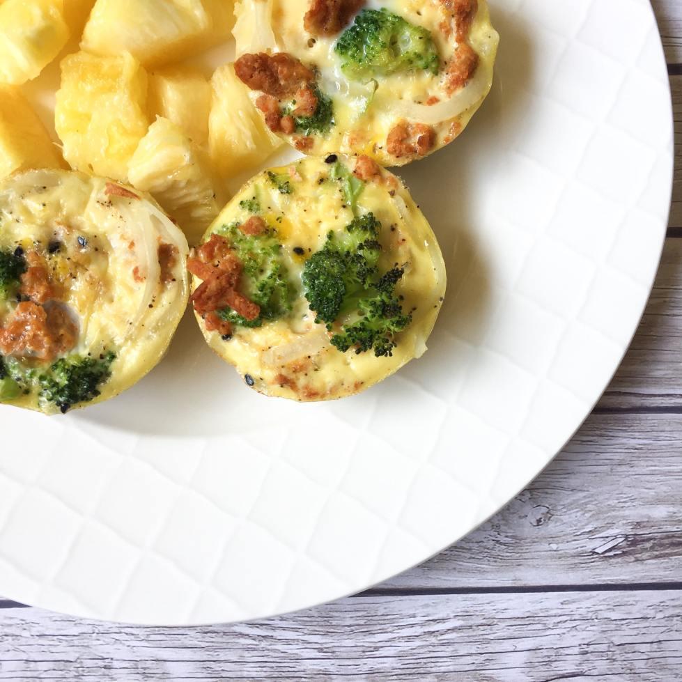 Quick & Easy Breakfast Muffins