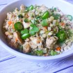 Cauliflower Chicken Fried Rice: Low Carb and Healthy