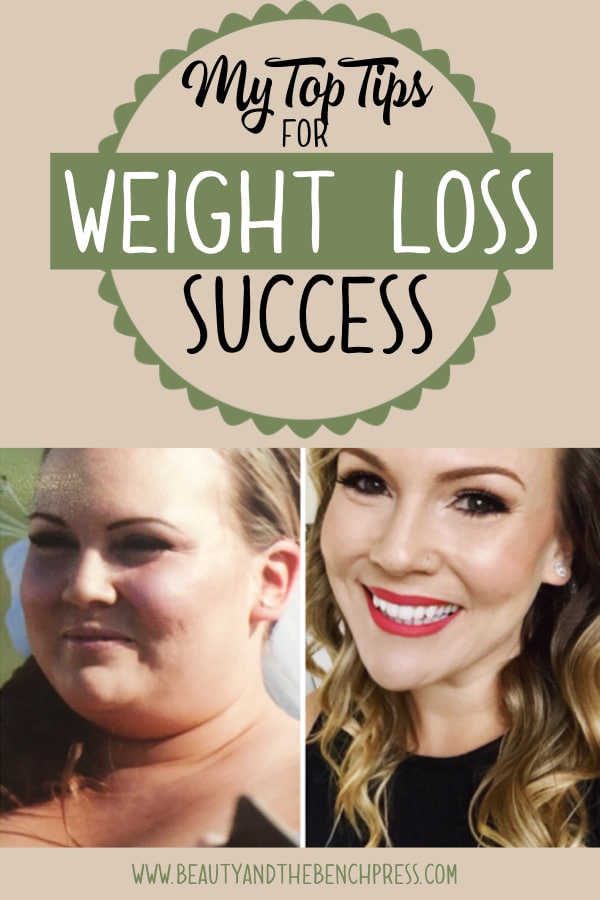 My top weight loss tips for beginners that helped me lose 85 pounds. #weightloss