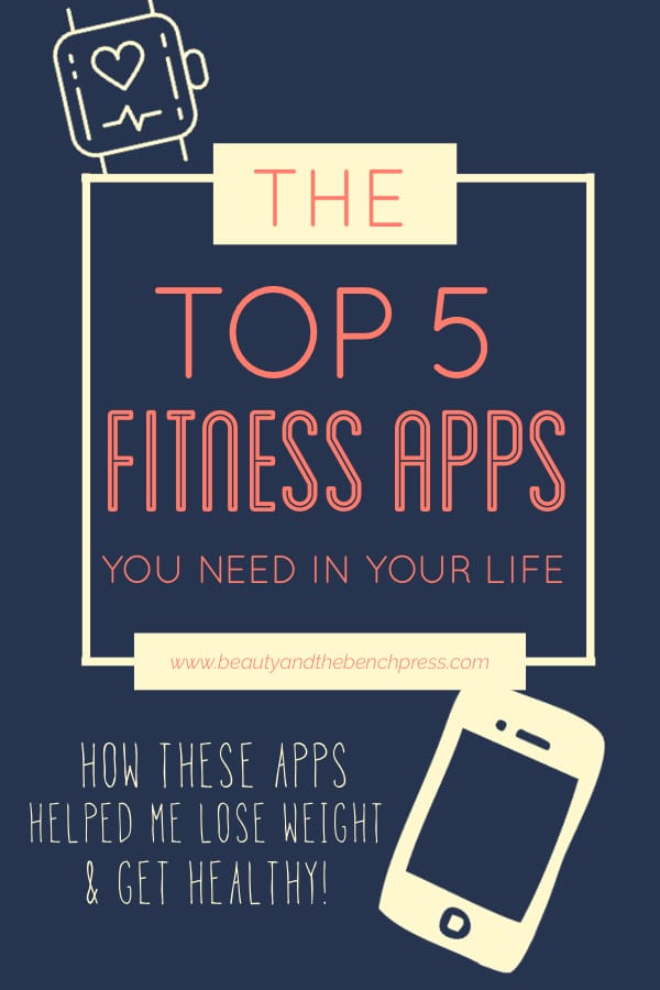 A compilation of the top health and fitness apps for iPhone and Android that helped me lose weight and get healthy! These apps helped me with nutrition, exercise, and motivation when I needed it most! #fitnessapps