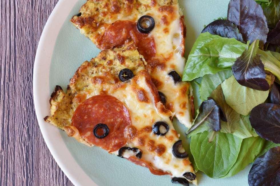 Cauliflower Pizza Crust: Low Carb & Healthy!