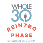 Whole30 Reintroduction: My Experience & Realizations