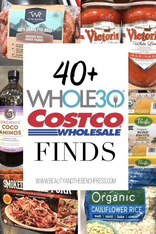 Ready to rock your Whole30?! Here are 40+ Whole30 compliant items you can find at your local Costco. From compliant proteins and Whole30 snack ideas to condiments, I've got your covered! #whole30costco #whole30compliant