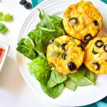 Sausage Pizza Breakfast Muffins: Whole30, Low Carb, Meal Prep