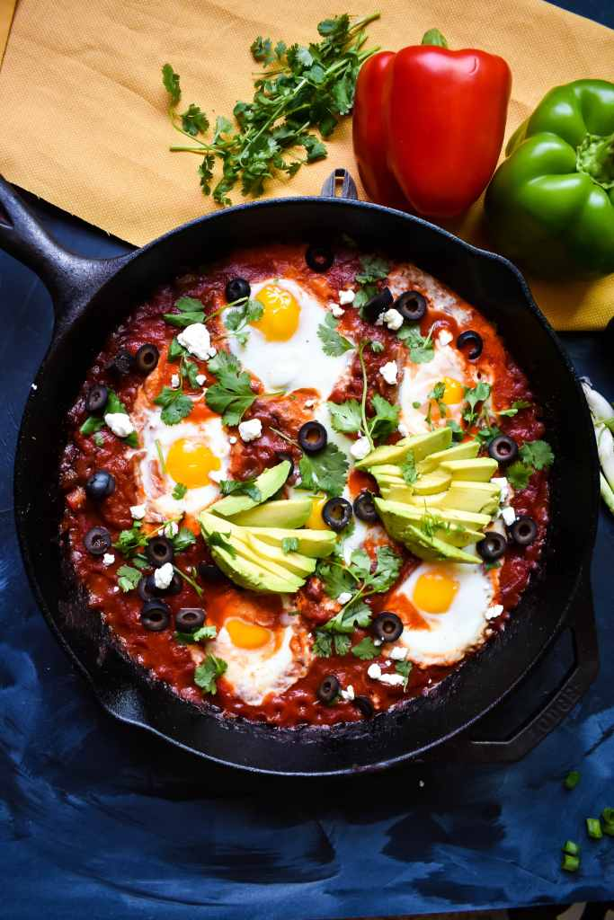 mexican style shakshuka