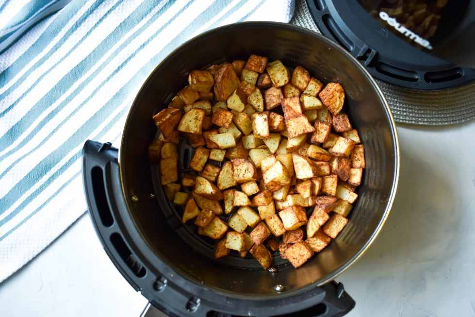 crispy air fried potatoes