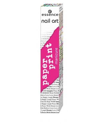 Essence Nail Art Paper Print Manicure 01