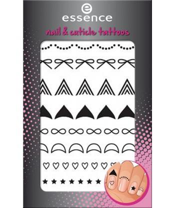 Essence Nail Art Sticker Holo Stripes