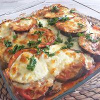 Soslu Patlican | Aubergine & Tomato Bake