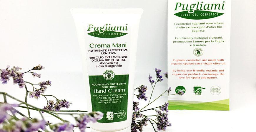 PIGLIAMI E…PUGLIAMI: Cosmetici a base di olio extravergine d'oliva bio pugliese- Recensione crema mani nutriente protettiva 🤲🏼🌿🌿