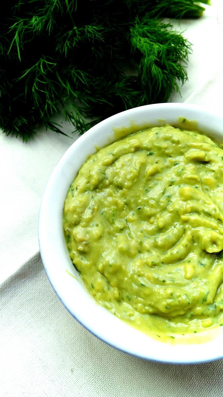 avocado dill dip