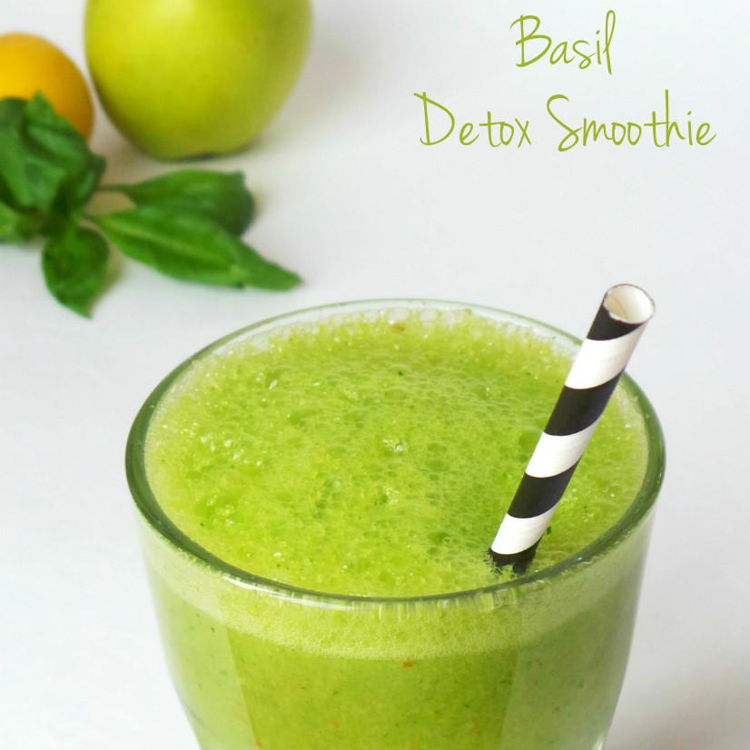 Basil Detox Drink