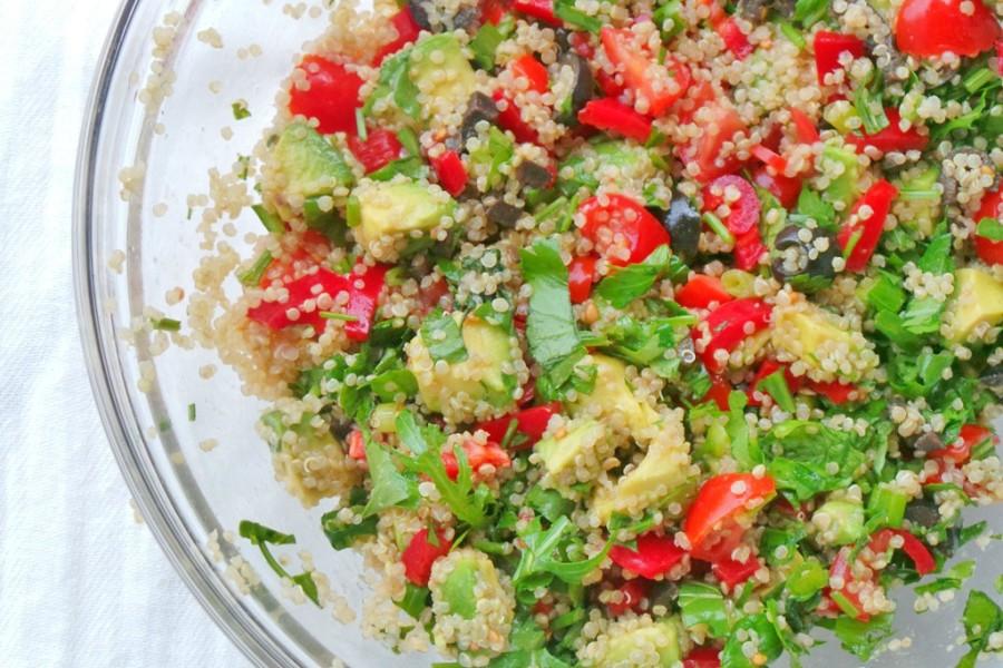 avocado quinoa detox salad