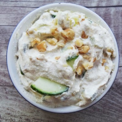 Healthy and Delicious Tzatziki with a Vegan and Paleo Version
