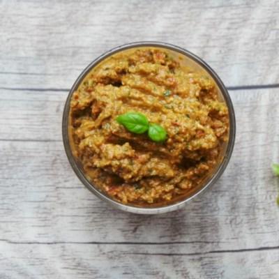 Easy Pesto For Sandwiches – Vegan, Gluten-Free, Paleo