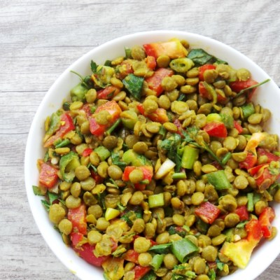 Spicy Lentil Salad