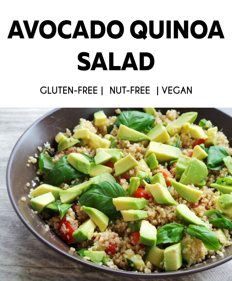 AVOCADO QUINOA SALAD - BEAUTY BITES