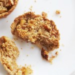 Healthy Apple Crumble Mini Pies