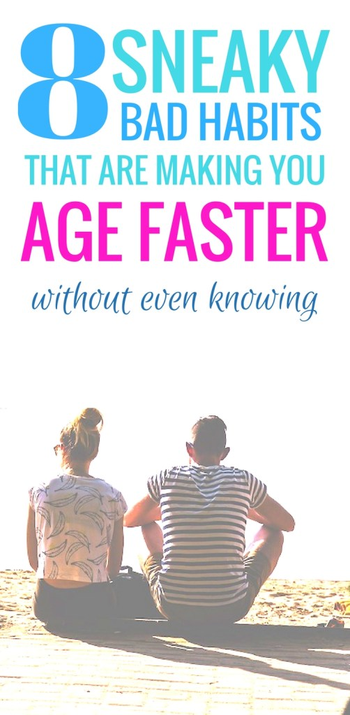 8 bad habits that are making us age faster! Even if you're eating a healthy diet and exercising every day, these habits might be making you feel miserable. | Healthy habits | Healthy lifestyle | funny quotes about life #healthy lifestyle