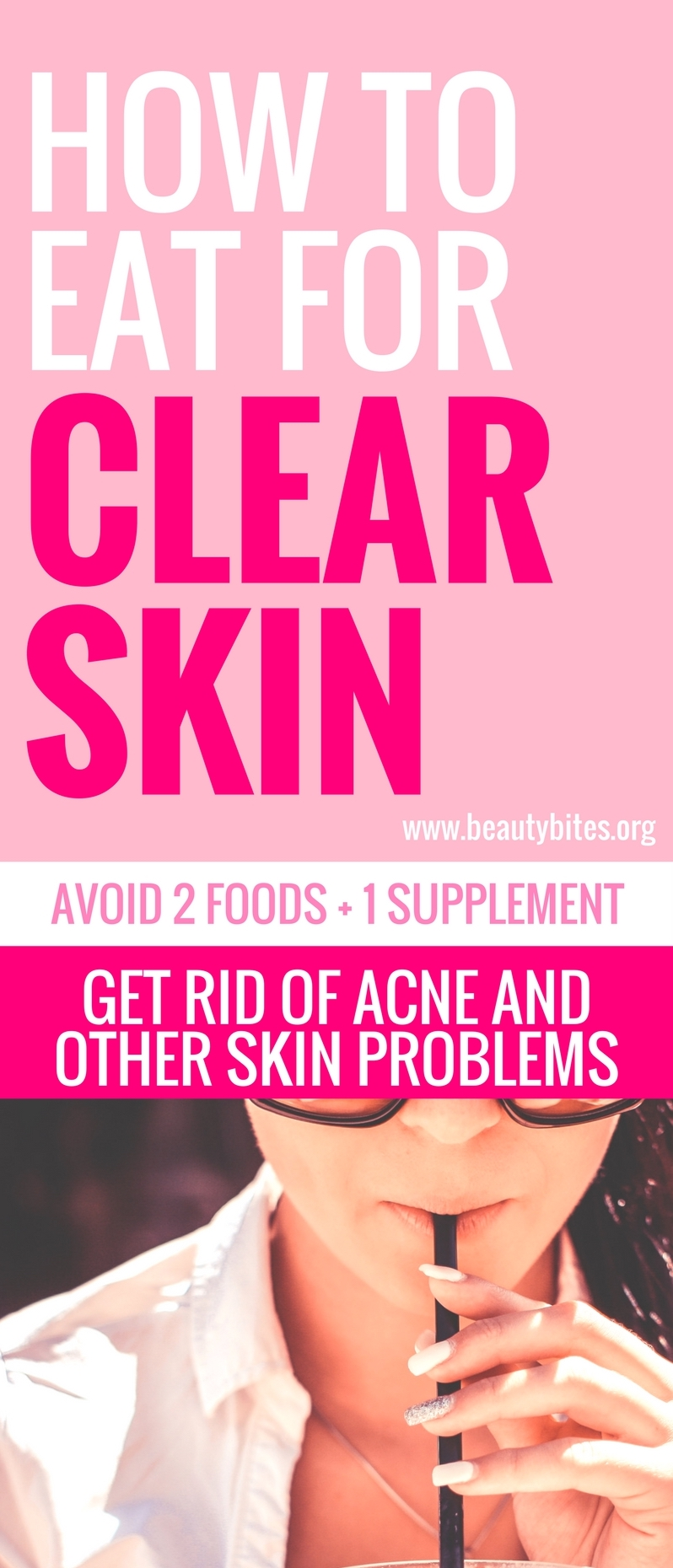 Struggling with acne and breakouts is not a fun ride. However, if you eliminate just two foods from your diet, studies show things will get a LOT better. And if you're taking any fitness supplements, there's one that could actually be causing your acne - even if you had none to begin with.