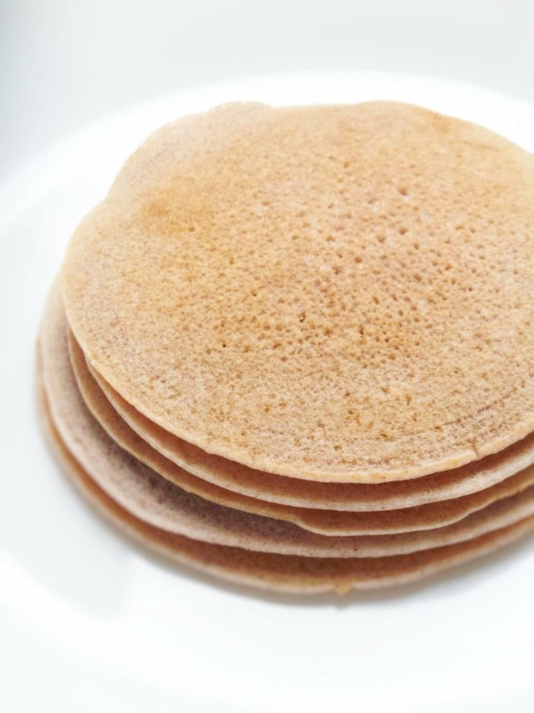 Easy buckwheat pancakes 5 ingredients vegan and gluten free these vegan and gluten free buckwheat pancakes are proof that you can make tasty fluffy ccuart Choice Image