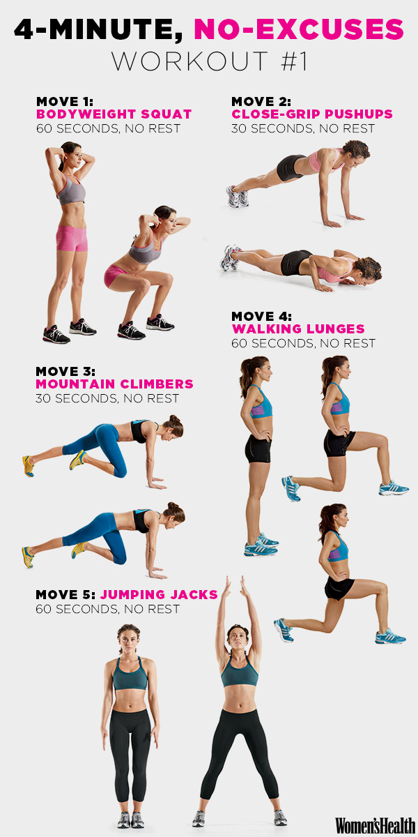 8 Quick Fat-Burning Workouts To Help You Stay in Shape In 7
