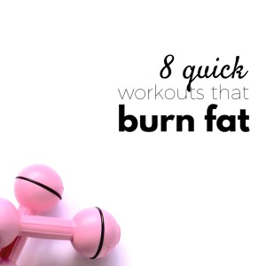 Try these super short fat-burning workouts to stay healthy and fit, even when you're busy! These eight exercise routines for women are perfect if you have only 7 minutes or less. You can do these workouts at home or anywhere you want!