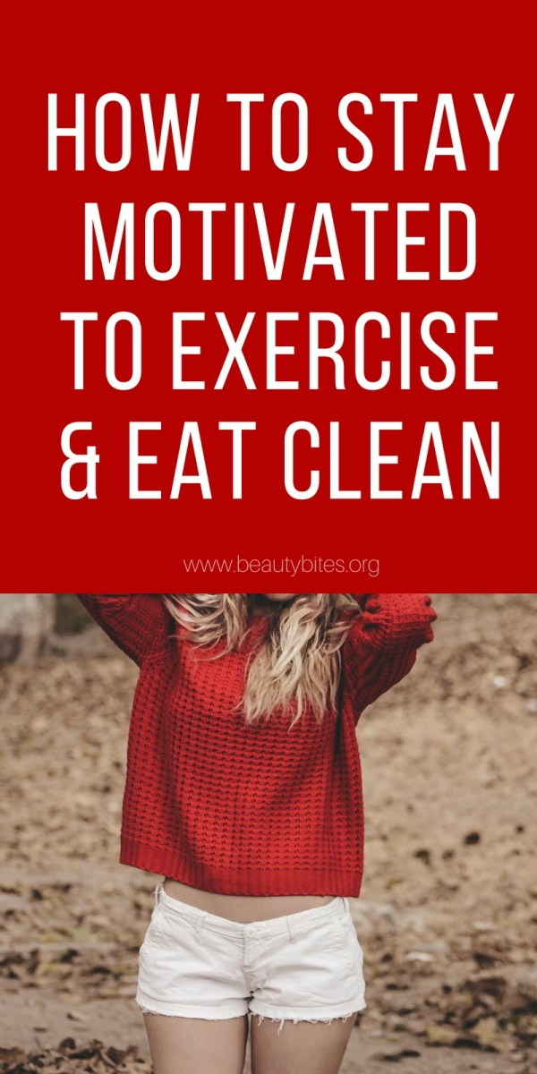 Clean eating and working out are two important parts of a healthy lifestyle and of healthy weight loss. Only...it's hard to keep going, it's hard to stay motivated to exercise and eat healthy every day. The 5 tips here can help you stay motivated and on track with your workouts and eating!