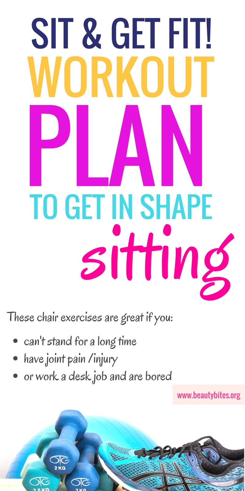 Try this one week beginner workout plan you can do at home and donu0027t  sc 1 st  Beauty Bites : chair workouts at work - Cheerinfomania.Com