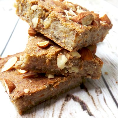 Healthy Banana Bread – Vegan, High-Fiber, No Sugar / Flour