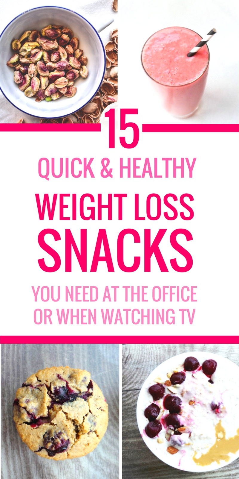 Super easy healthy snacks! If you want to eat healthier, but don't know what to eat on the go, at work or when watching TV - try these healthy snack ideas! These clean eating snacks will help suppress your appetite and satisfy your cravings. Clean Eating for Beginners • Healthy snacks for a sweet tooth