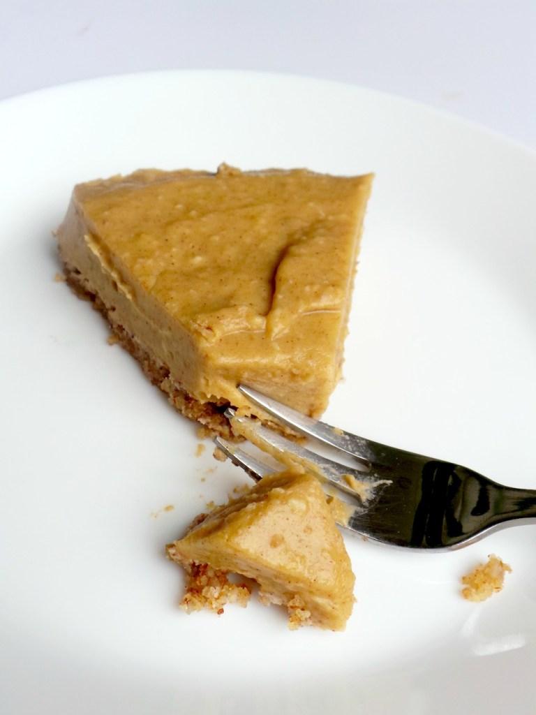 No Bake Healthy Butternut Squash Pie – Vegan, GF