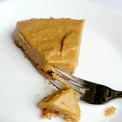 No Bake Healthy Butternut Squash Pie – Vegan, GF