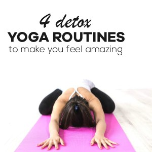 4 amazing yoga routines to help detox your body and make you feel amazing. Okay, one of them is actually is a pilates workout, but let's not be annoying about it...check them out! | beautybites.org | yoga poses for beginners and advanced | yoga poses for detox