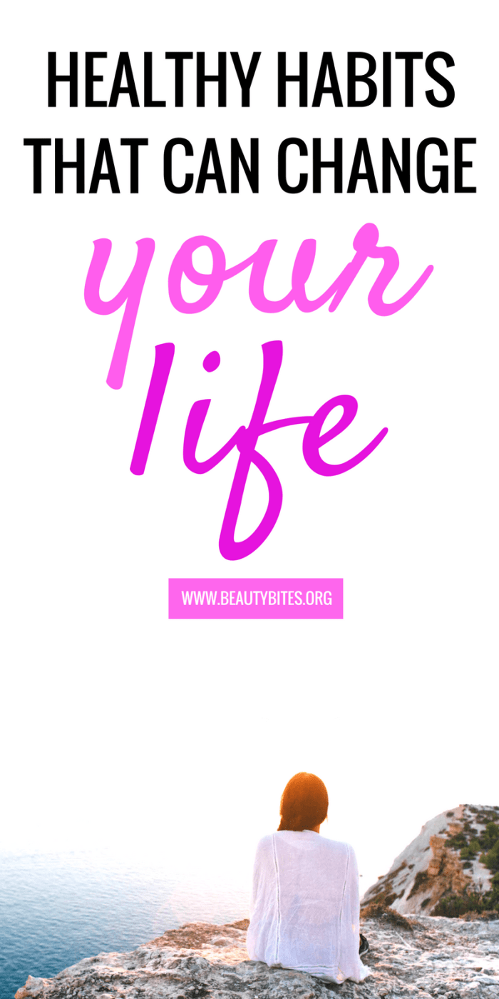 6 healthy habits that can change your life! These healthy habits made me happier, healthier and even made me money. healthy morning routine + self-care tips for women