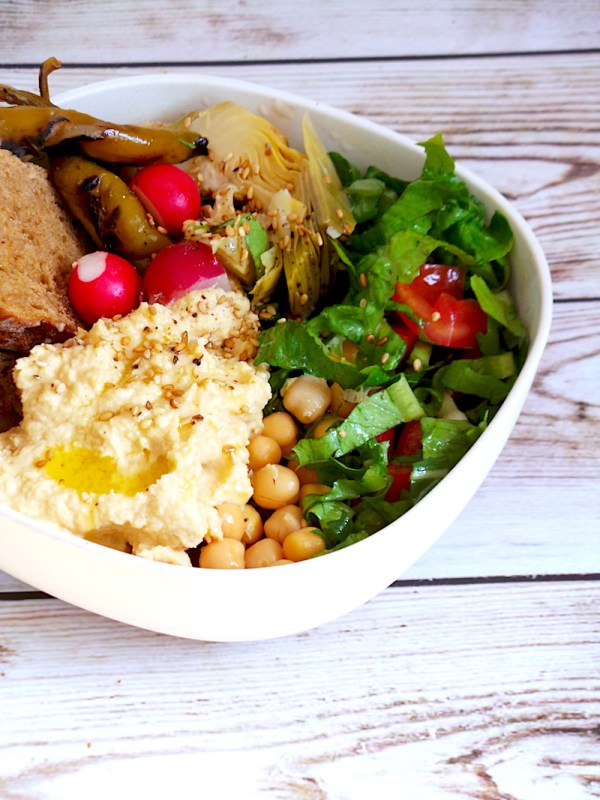 Easy Healthy Lunch Bowl For Work