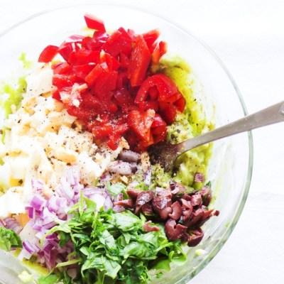 Avocado Egg Salad | Low Carb & Vegetarian