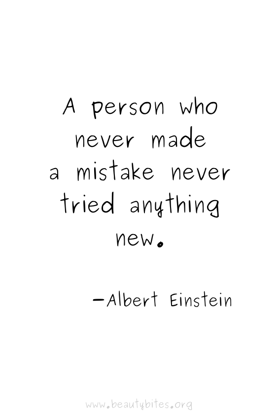 A person who never made a mistake never tried anything new - Albert Einstein quotes | motivational quotes | inspirational quotes | positive quotes | Monday motivation