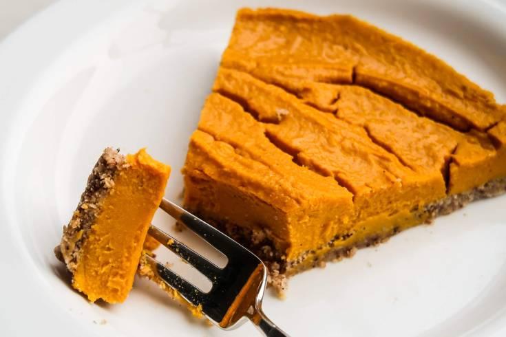 Paleo Vegan Butternut Squash Pie