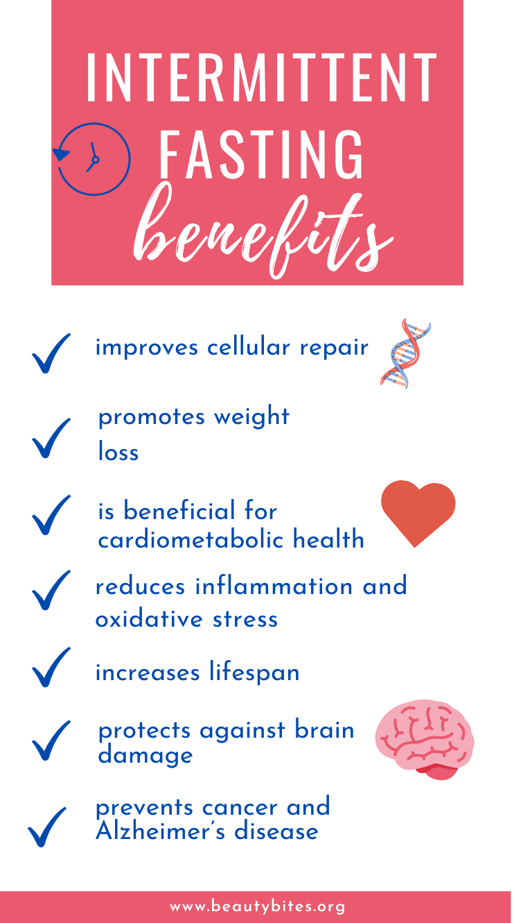 Intermittent fasting benefits! There are many ways intermittent fasting can benefit your physical and mental health, beyond just weight loss! #intermittentfasting #fasting #health #healthy