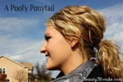 poofy ponytail easy