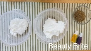 Dried Calendula Lavender Whipped Soap Steps 7-9